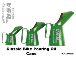 BSA Classic Bike Oil Cans Set PC00070